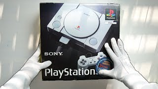 PS1 UNBOXING! Original Sony PlayStation 1 PSX Console (Launch Model) SCPH-1002