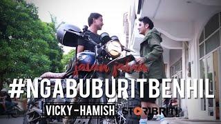 Video Vicky Nitinegoro dan Hamish Daud - Jalan-jalan #NgabuburitBenhil MP3, 3GP, MP4, WEBM, AVI, FLV Mei 2019