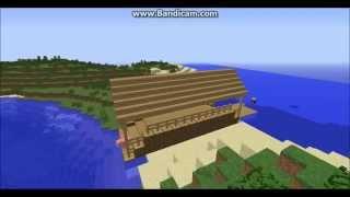 Minecraft Timelapse - Přístav