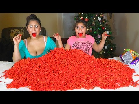 Video HOT CHEETOS & TAKIS FUEGO CHALLENGE!!! download in MP3, 3GP, MP4, WEBM, AVI, FLV January 2017