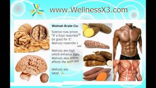 http://www.wellnessx3.com/ True Wealth is in Good Health. These Super Foods does a great deal for the body & brain. Eat these foods regularly to reap the ben...