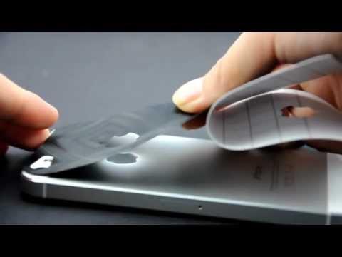 Cool 3D Carbon Fiber Back Cover Skin Sticker for iPhone 5