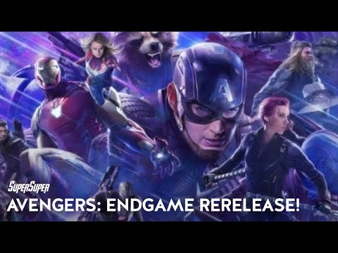Avengers Endgame: Re-release with Brand New Footage | SuperSuper