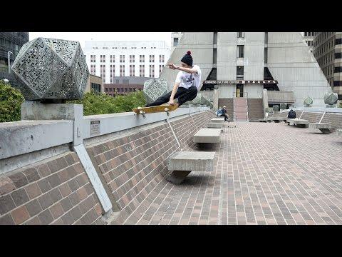 """Rough Cut: Jarne Verbruggen\'s \""""Never Skatebored\"""" Part (#Skate)"""