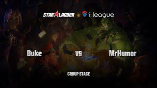 MrHumor (逗小姐) vs DukeHS, game 1