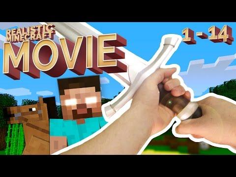 Realistic Minecraft - THE MOVIE (Episode 1 - 14)