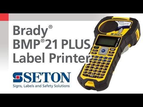 Brady® BMP®21 PLUS Printer Overview | Seton Video