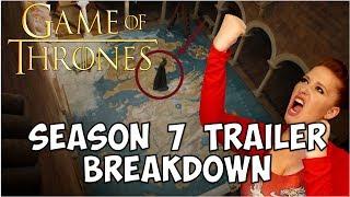 Game of Thrones Season 7 Trailer Breakdown!!!! Time Traveling Dinosaur Earrings: https://timetravelingdinosaur.com/earrings/ ○SUBSCRIBE: ...