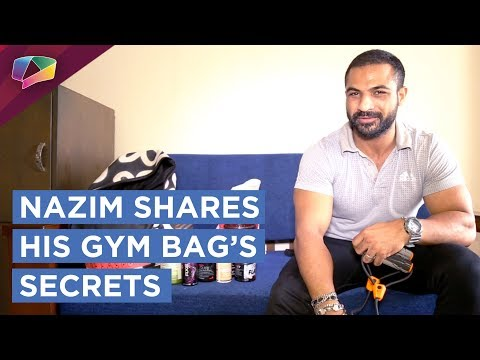 Mohommad Nazim Shares What's In His Gym Bag  