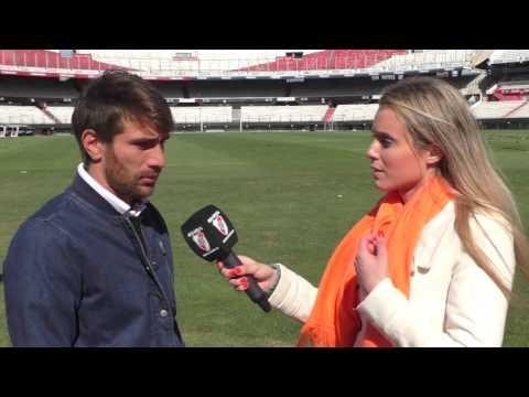Ponzio, en la previa de los octavos de la Libertadores