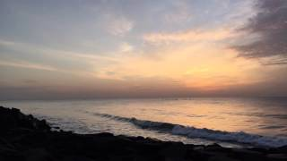 Sunrise timelapse,pondicherry,india