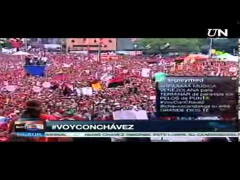 Así cantaba Hugo Chávez