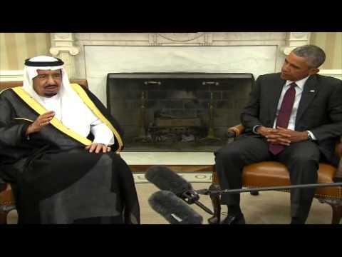 #فيديو :: #الملك_سلمان تعمدت أن تكون زيارتي الأولى لأمريكا