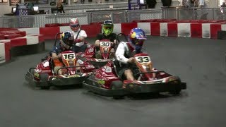 KTM Team Indoor Go Kart Race - Red Bull Fast Laps 2013 - YouTube
