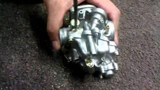10. Scooter Air/Fuel Mixture Screw Adjustment