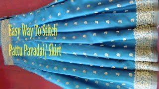 Video Skirt Stitching | How To Stitch Skirt /pavadai | Pattu Pavadai Stitching MP3, 3GP, MP4, WEBM, AVI, FLV Oktober 2018