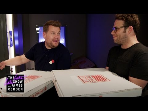 Mystery Pizza Box with Seth Rogen