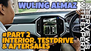 Download Video WULING ALMAZ #PART 2  #INTERIOR, #TESTDRIVE & #AFTERSALES  -INTERVIEWS WITH EXPERT- MP3 3GP MP4