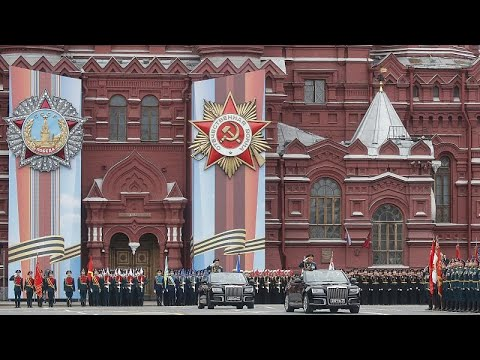 Russland: Feier zum 74. Jahrestag des Sieges der Sowj ...