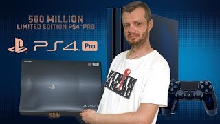 PlayStation 4 Pro 500 Million Limited Edition - Unboxing!