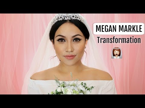 Meghan Markle Bride Makeup Transformation