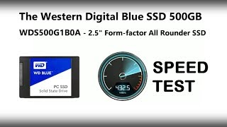 "WD SSD Blue for everyday, but just how fast is it https://www.span.com/product/WD-Blue-SSD-7mm-WDS500G1B0A-2-5-SATA-6Gb-500GB-SSD~59853UPGRADED STORAGE FOR HIGH END PERFORMANCEReady for your high performance computing needs, a WD Blue SSD offers optimized storage with blazing speed and industry leading reliability.Superior PerformanceWith read speeds up to 545MB/s and write speeds up to 525MB/s, WD Blue SATA SSDs deliver system boot times and less load time.Leading ReliabilityAn endurance rating of up to 400TBW and a 1.75 million hour mean time to failure ensure a WD Blue SSD can guard your data for years to come.Maximized MultitaskingOptimized for multitasking, WD Blue SSDs let you simultaneously run several demanding applications with ease.THE RIGHT FORM FACTOR FOR YOUR PCEvolved for smaller and thinner computers, WD Blue SSDs are available in 2.5"" 7mm and M.2 2280 models to accommodate most laptop and desktop PCs. And the downloadable WD SSD Dashboard provides a suite of tools so you're always able to check on the health of your solid state drive.WD F.I.T. LAB CERTIFIEDCertified by WD F.I.T. Lab™ to be compatible with a wide range of desktop and laptop computers, you can be sure a WD Blue SSD is the right fit for you. 3-YEAR LIMITED WARRANTYEvery WD Blue SSD comes with a 3-year limited warranty, so you can confidently trust WD for all your data needs.Did you enjoy the video? Find it helpful? Want to hear more? Of course you want to...you're only human! Why not subscribe to save you searching next time https://www.youtube.com/user/SPANdotCOMAre you interested in all things data storage. Perhaps you are a Mac users and want to know if this NAS, DAS, Cable or Drive will work for you? That is where SPAN and Robbie can help. For over 20 years SPAN has been helping companies and individuals worldwide with their digital archive and storage needs. Alongside that Robbie (Robert Andrews if you want to be delightfully formal) has been spending the last few years keeping you up to date on all things data and won't shut up about it!If you are as interested in data as we are, then you can find us in a number of ways. SPAN can be reached here SPAN - http://www.span.com. However if you want to be kept up to date with new releases, news and keep your finger on the pulse of data storage, follow us below.Find us on https://www.facebook.com/SPANdotCOM/Follow us on our SPAN Twitter - https://twitter.com/SPANdotCOMOr follow and speak with Robbie directly on his Twitter - https://twitter.com/RobbieOnTheTubeStill not enough? Then why not visit and subscribe to our blog. Upddated regularly it gives you an far wordier version than SPANTV as well as provide you with hints and tips on how to make the most of your hardware here http://www.NASCompares.comDon't forget to visit them on Facebook to entry prize draws, giveaways and competitions, as well as hear about the latest news, NAS releases & offers - https://www.facebook.com/nascompares/"