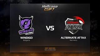 Windigo vs ALTERNATE aTTaX, map 2 mirage, Hellcase Cup 7