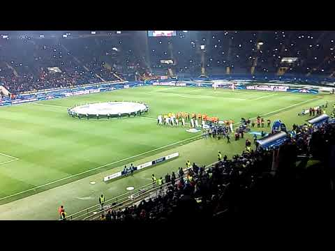 Гимн Лиги Чемпионов Шахтёр : Рома
