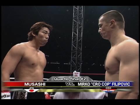 K-1 Mirco CroCop vs Musashi
