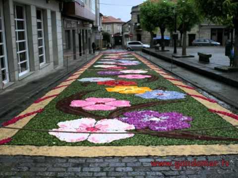 Las alfombras de Gondomar florecen