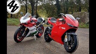 8. Ducati 1299 Panigale R Final Edition + Desmosedici V4