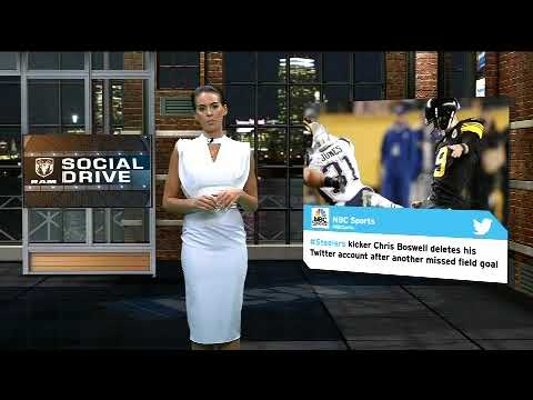 Video: RAM Social Drive: Juju Elated Over Belichick Praise, Chris Boswell Deletes Twitter