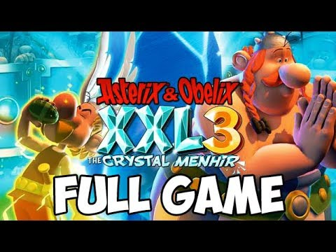 Asterix & Obelix XXL 3: The Crystal Menhir FULL GAME Longplay (PS4, XB1, PC)
