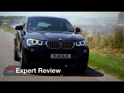 BMW X4 SUV expert car review