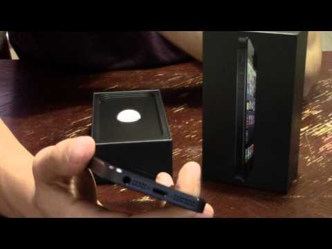 iphone 5 unboxing - Check out my all new iPhone 5 16GB AT&T unboxing and my initial impressions. I jumped on for the pre orders early but apple delayed my shipment a week! I was...