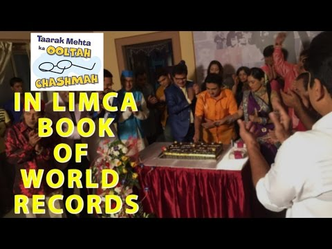 Tarak Meheta Ka Ooltah Chashmah Show In Limca Book