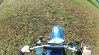 4. GoPro- Yamaha PW80 riding around