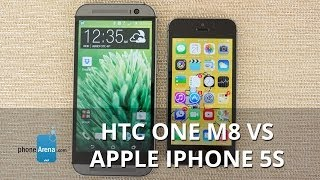 HTC One M8 vs Apple iPhone 5s