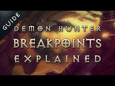 What are sentry breakpoints? Demon Hunter guide: Diablo 3 Reaper of Souls