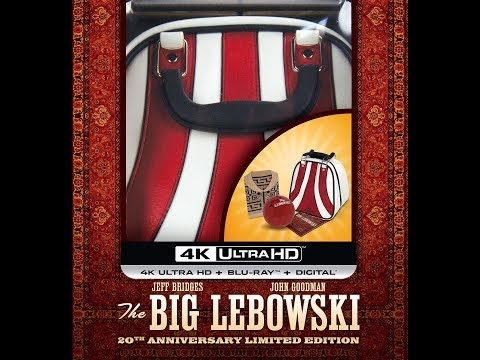 The Big Lebowski 4K Blu-ray Limited Edition Unboxing