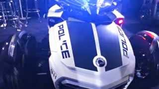 9. 2016 Can Am Spyder F3 and Outlander Police Editions