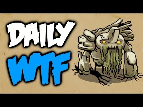 Dota 2 Daily WTF - Tiny Is Under Attack!