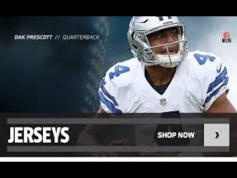 Dallas Cowboys Jerseys - Dallas Cowboys Gear | Dallas Cowboys Jerseys | NFL Shop