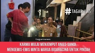 Video Karma Mulai Menjemput Anies Sandi, Sekarang Mengemis emis Minta Warga Bidaracina Untuk Pindah MP3, 3GP, MP4, WEBM, AVI, FLV Agustus 2018