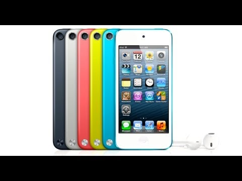 NEW iPod Touch 5 Revealed – Thinner, Lighter & Faster! iTouch 5G Official Reveal Video