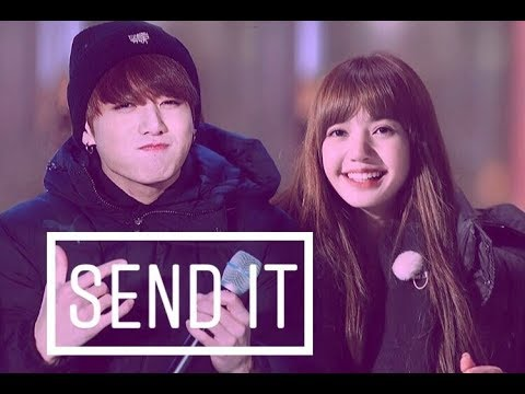 💓Lizkook💓 Lisa (blackpink) & Jungkook (bts) • send it • [fmv]