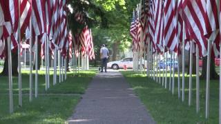 Geneseo (IL) United States  City new picture : Aisle of Flags - Memorial Day 2016 - Geneseo IL