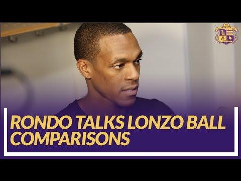 Video: Lakers Nation Post Game: Rajon Rondo Talks Comparisons to Lonzo Ball