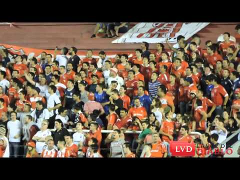 """(HD) """"El Rojo es un sentimiento es una pasión"""" // Hinchada de Independiente vs GE - La Barra del Rojo - Independiente"""