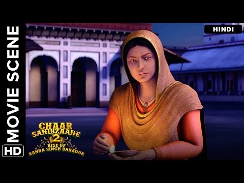 The echoes of Waheguru | Chaar Sahibzaade 2 Hindi Movie | Movie Scene